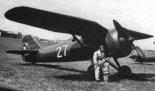 Samolot myśliwski PZL P-7a polskiego lotnictwa wojskowego. (Źródło: archiwum).