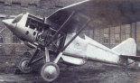 Samolot myśliwski PZL P-8/I, pierwszy prototyp. (Źródło: archiwum).