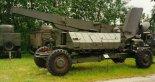 """Wyrzutnia rakiet SM-90. (Źródło: Copyright Witold Mikiciuk- """"Militaria i lotnictwo Jowitka"""")."""
