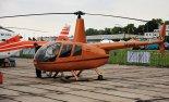 Prywatny śmigłowiec lekki Robinson R-44 (SP-KHH). (Źródło: Copyright Tomasz Hens).
