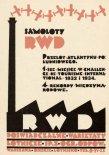Reklama prasowa Doświadczalnych Warsztatów Lotniczych.  (Źródło: Skrzydlata Polska nr 10/1934).