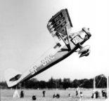 Samolot zawodniczy RWD-9. Start na bramkę. (Źródło: archiwum).