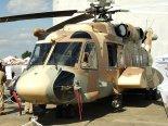 """Śmigłowiec wielozadaniowy Sikorsky S-92 (H-92) """"Superhawk"""". (Źródło: Copyright Tomasz Hens)."""