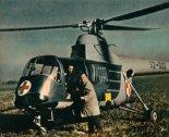 Śmigłowiec SM-2 w wersji sanitarnej. (Źródło: Skrzydlata Polska nr 17/1963).