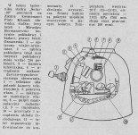Lądownik statku kosmicznego Sojuz 30. (Źródło: Skrzydlata Polska nr 30/1978).