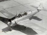 """Samolot TS-8 """"Bies"""" w widoku z góry. (Źródło: Lotnictwo Aviation International nr 3/1992)."""