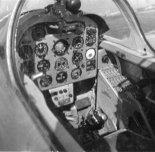"""Kabina pilota w prototypie samolotu TS-11 """"Iskra"""". (Źródło: via Rafał Chyliński)."""