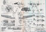 Szcze-2, plany modelarskie. (Źródło: Modelarz nr 10/1978).