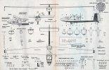 """SZD-45 """"Ogar"""", plany modelarskie. (Źródło: Modelarz nr 5/1977)."""