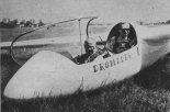 """Pierwszy prototyp SZD-50 jeszcze z nazwą """"Dromader"""".  (Źródło: Skrzydlata Polska nr 18/1978)."""