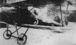 Samolot myśliwski Albatros D-V nr 5, Baza Lotnictwa Morskiego w Pucku. (Źródło: archiwum).