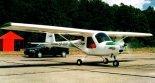 Samolot 3Xtrim VLA na lotnisku w Goleniowie. (Źródło: Przegląd Lotniczy Aviation Revue nr 8/2000).