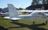 """Samolot Tecnam P92 """"Echo"""" prezentowany na Pikniku Lotniczym w Golędzinowie, wrzesień 2013 r. (Źródło: Copyright Kornel Kempiński)."""