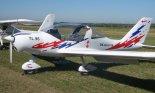 """Samolot TL-96 """"Star"""" (OK-GUU05) prezentowany na Pikniku Lotniczym w Golędzinowie, wrzesień 2013 r. (Źródło: Copyright Kornel Kempiński)."""