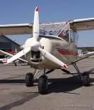 """Samolot TL-232 """"Condor"""" (ŁA-0460) właściciela z Kielc prezentowany na Zlocie Konstrukcji Amatorskich w Turbii w 2002 r. (Źródło: Aleksander Dobrzański via Damian Lis)."""