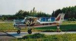 """Samolot TL-232 """"Condor"""" o znakach OK-CUO-20  z lotniska Aeroklubu Kieleckiego w 2004 r. (Źródło: Damian Lis)."""