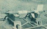 Rakieta RM-2D, której start nastąpił dnia 10.04.1961 r. W zasobniku tej rakiety znajdowały się dwie myszki. (Źródło: Skrzydlata Polska nr 43/1963).
