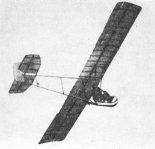 """Szybowiec amatorski S-1. (Źródło: Glass A. """"Polskie konstrukcje lotnicze 1893-1939"""". Wydawnictwa Komunikacji i Łączności. Warszawa 1976)."""