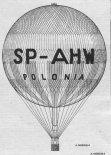 """Balon JP-2GB """"PoloniaI"""" (SP- AHW), rysunek. (Źródło: rys. Andrzej Morgała via Skrzydlata Polska nr 49/1963)."""