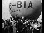 """Szwajcarski balon JP-2GB """"Zurich III"""" (HB-BIA) klasy """"Gordon Bennett"""". (Źródło: via Konrad Zienkiewicz)."""