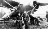 """Samolot obserwacyjny Westland """"Lysander"""" Mk.I z 309 dywizjonu współpracy z armią. (Źródło: via Wojciech Zmyślony- """"Polskie Siły Powietrzne w II wojnie światowej"""")."""