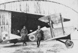 """Samolot """"Balilla"""" w barwach polskiego lotnictwa wojskowego. (Źródło: Skrzydlata Polska nr 15-16/1991)."""