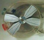 """Silnik spalinowy typu """"X"""" konstrukcji  Jerzego Woźniaka. (Źródło: """"SILNIK  SPALINOWY TYPU"""