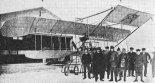 Samolot Warchałowski III po rekordowym locie 27.12.1910 r. (Źródło: archiwum).