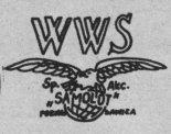 "Wielkopolska Wytwórnia Samolotów S.A. ""Samolot"", logo. (Źr,ódło: Skrzydlata Polska nr 42/1978)."
