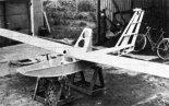"""Samolot Zimny """"Polonez"""" w budowie. (Źródło:  Skrzydlata Polska nr 8/1986)."""