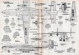 Antonow An-22, plany modelarskie. (Źródło: Modelarz nr 1/1969).