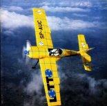 Zlin Z-50 (SP-AUC) w żółtym malowaniu LOTTO. (Źródło: Przegląd Lotniczy Aviation Revue nr 3/1996).