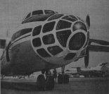 Samolot An-30 należący do Akademii Nauk ZSRR, który był wykorzystywany do wykonywania zdjęć obszaru Polski w latach 1977- 1978. (Źródło: Skrzydlata Polska nr 24/1979).