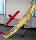 Bezpilotowy aparat latający Ducky (2009). (Źródło: Copyright  SAE Aerodesign).
