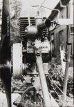 Zespół napędowy motolotni. (Źródło: archiwum Zbigniew Kmin).
