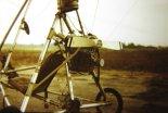 Widok układu napędowego motolotni. (Źródło: archiwum Zbigniew Kmin).