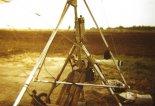 """Widoczny charakterystyczny, """"pionowy"""" zbiornik paliwa. (Źródło: archiwum Zbigniew Kmin)."""
