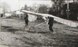 Motolotnia w wersji z dużym kółkiem ogonowym. (Źródło: archiwum Zbigniew Kmin).