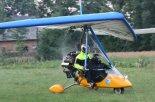Motolotnia podczas startu. (Źródło: Copyright Bogusław Kuśnierz).