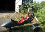 Wózek motolotni MOTO-2GTN zmodyfikowany przez Mariana Górniaka. (Źródło: Copyright Marian Górniak).