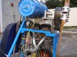Silnik, przekładnia, śmigło oraz zbiornik paliwa. (Źródło: Copyright Marian Górniak).
