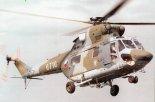 """Pierwszy czeski PZL W-3 """"Sokół"""" odlatuje ze Świdnika. (Źródło: Grzegorz Holdanowicz via Aeroplan nr 4/1996)."""