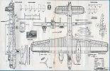 """Armstrong Whitworth """"Whitley"""" Mk.V, plany modelarskie. (Źródło: Modelarz nr 3/1977)."""