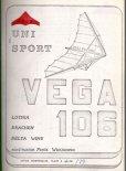 """Okładka planów technicznych lotni  """"Vega 106"""". (Źródło: Copyright Paweł Wierzbowski)."""
