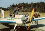 """Samolot Adamiec Evans VP-2 """"Volksplane"""" w pierwszej wersji z 1991 r. (Źródło: Copyright Jerzy Adamiec)."""