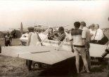 """Samolot wzbudził duże zainteresowanie. VP-2 """"Volksplane""""  pierwsza wersa z 1991 r.  (Źródło: Copyright Jerzy Adamiec)."""