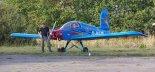 """Samolot amatorski Adamiec Evans VP-2 """"Volksplane"""" w drugiej wersji z 1995 r. (Źródło: Copyright Jerzy Adamiec)."""