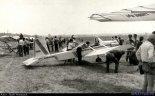 """Samolot Adamiec Evans VP-2 """"Volksplane"""", w pierwszej wersji z 1991 r., prezentowany na Zlocie w Oleśnicy. (Źródło: Copyright Jacek Waszczuk)."""