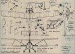 "Aviasud Engineering ""Mistral"". Plany modelarskie (Źródło: Modelarz nr 3-4/1990)."
