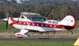 """Samolot akrobacyjny Aerotek Pitts S-2A """"Special"""". (Źródło: """"Wikimedia Commons"""")."""